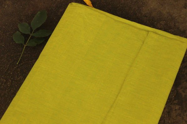 Green mangalgiri cotton fabric . TCB-MAN1-P5