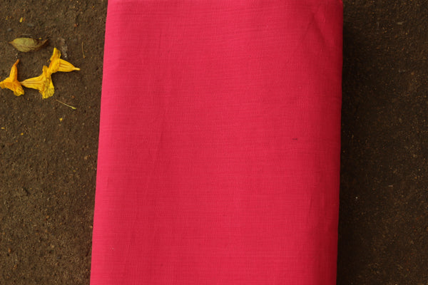 Pink mangalgiri cotton fabric . TCB-MAN2-P5