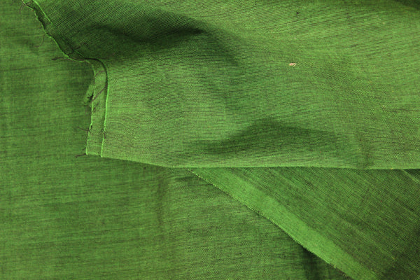 Green mangalgiri cotton fabric . TCB-MAN3-P5