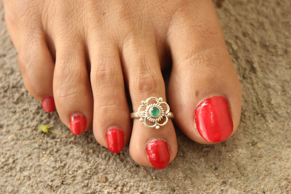 92.5 Silver Toe rings ( a pair). VA-TR-R