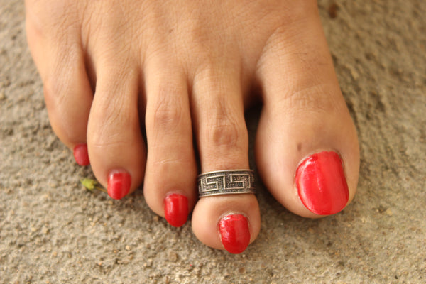 92.5 Silver Toe rings ( a pair). VA-TR-I