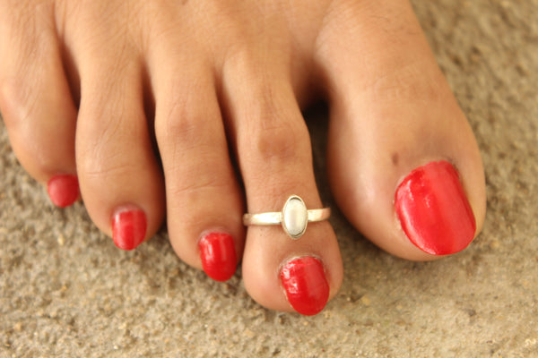 92.5 Silver Toe rings ( a pair). VA-TR-S