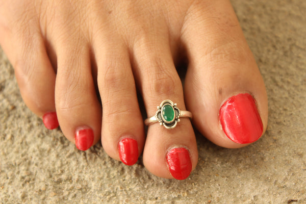 92.5 Silver Toe rings ( a pair). VA-TR-Q