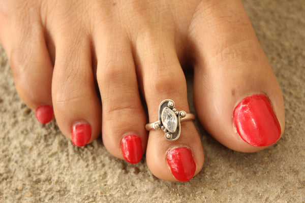 92.5 Silver Toe rings ( a pair). VA-TR-U
