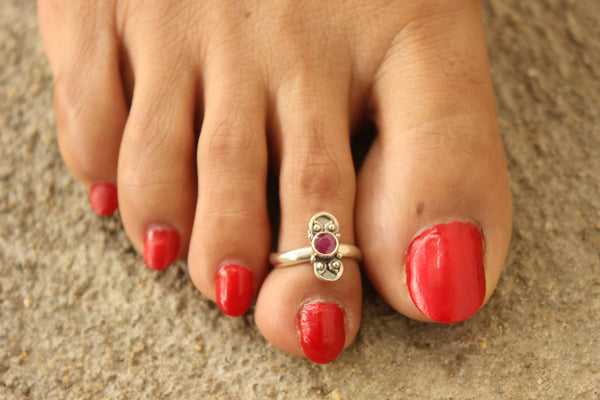 92.5 Silver Toe rings ( a pair). VA-TR-T