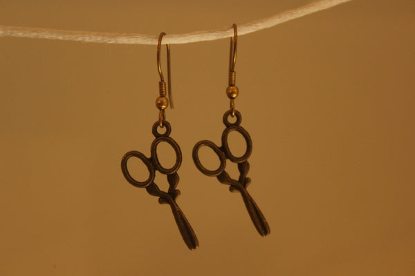 Scissors Earrings. ERR-OCT-5B