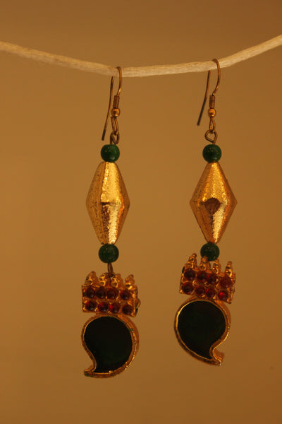 Drop earrings. ERR-OCT-15B