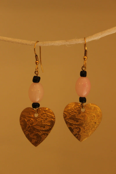Heart Earrings. ERR-OCT-9C