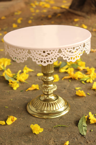 Foundary Metal Cake Stand EL- C28- LWE16011M