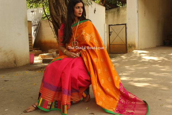 Fusion Saree AS334