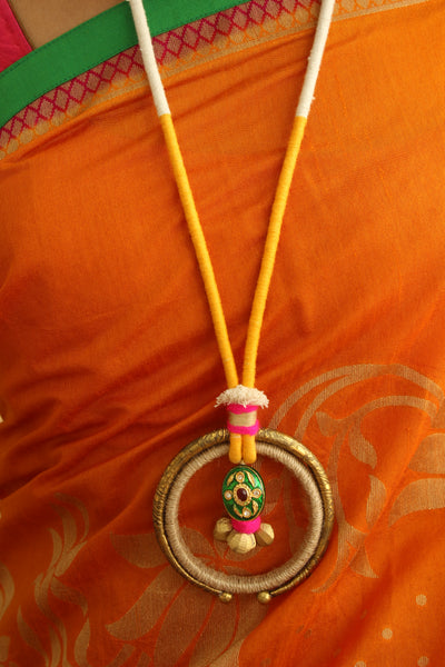 Handcrafted Hasli Necklace . AN110