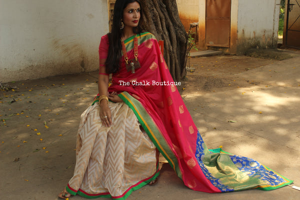 Fusion Saree AS336