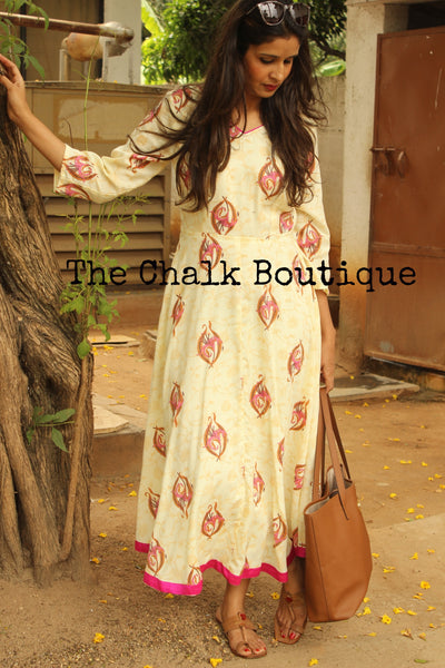 Pink Lily Maxi Dress GC-D-107A-The Chalk Boutique