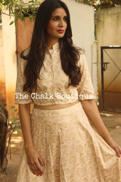 Ahimohini. GC-L-110 Gold-The Chalk Boutique