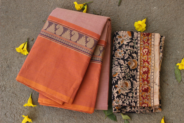 Chettinad cotton saree. Code- RK-CH-1-C20