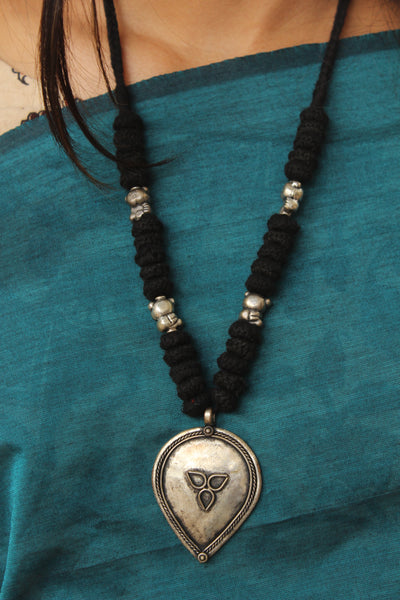 Lambani Tribal Adjustable  Dori Necklace TCB-JWL-7041