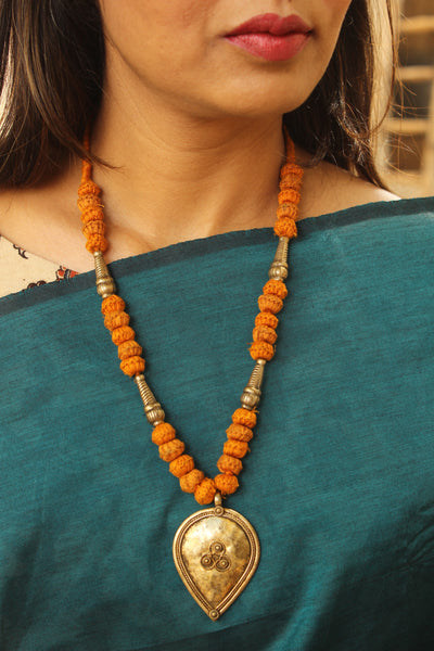 Lambani Tribal Adjustable  Dori Necklace TCB-JWL-7043