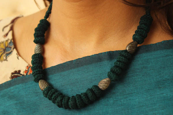 Lambani Tribal Adjustable  Dori Necklace TCB-JWL-7033