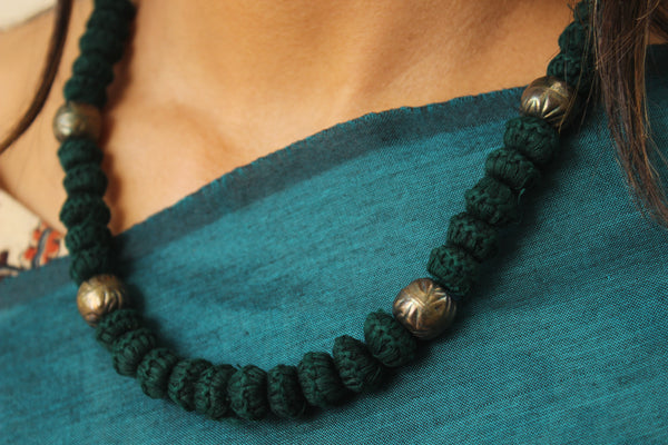 Lambani Tribal Adjustable Dori Necklace TCB-JWL-7024