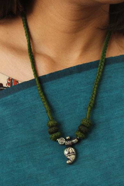 "Lambani Tribal  ""Keri"" Adjustable  Dori Necklace TCB-JWL-7019"