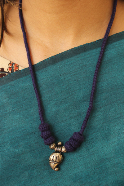 "Lambani Tribal  ""Keri"" Adjustable  Dori Necklace TCB-JWL-7005"