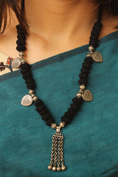 Lambani Tribal Adjustable  Dori Necklace TCB-JWL-7038