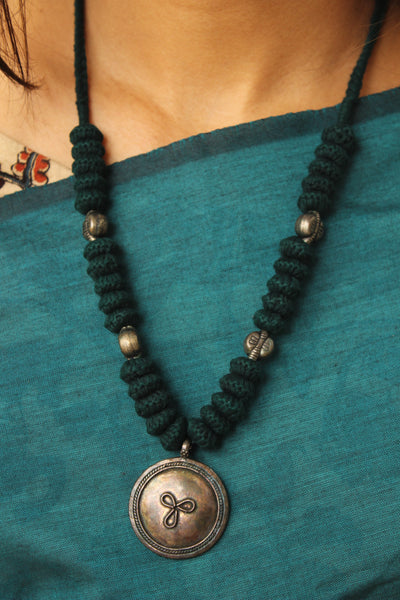 Lambani Tribal Adjustable  Dori Necklace TCB-JWL-7036