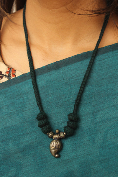 "Lambani Tribal  ""Keri"" Adjustable  Dori Necklace TCB-JWL-7011"