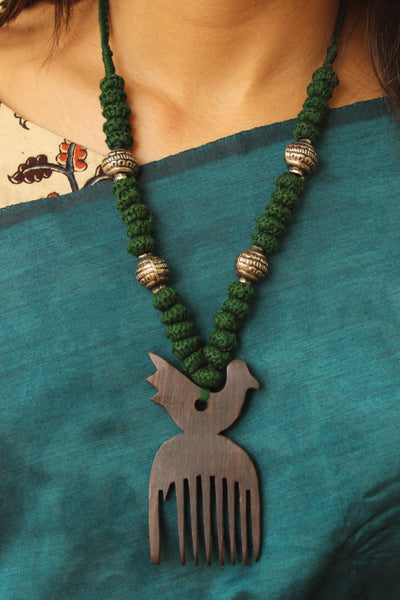 Comb Lambani Tribal Adjustable  Dori Necklace TCB-JWL-7048