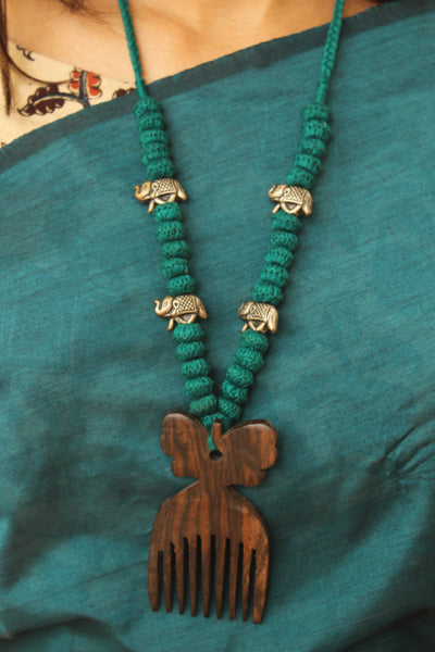 Comb Lambani Tribal Adjustable  Dori Necklace TCB-JWL-7052