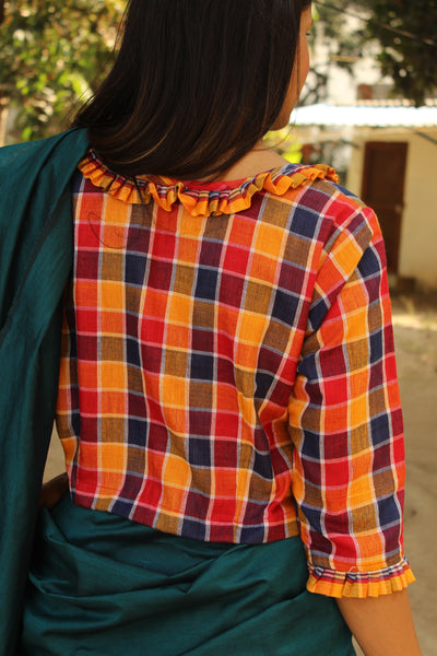 Gamcha Cotton Blouse  CC-GT1-C2