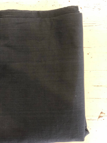 Black mangalgiri cotton fabric .
