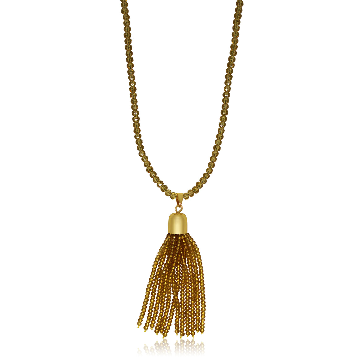 Crystal Tassel - Golden