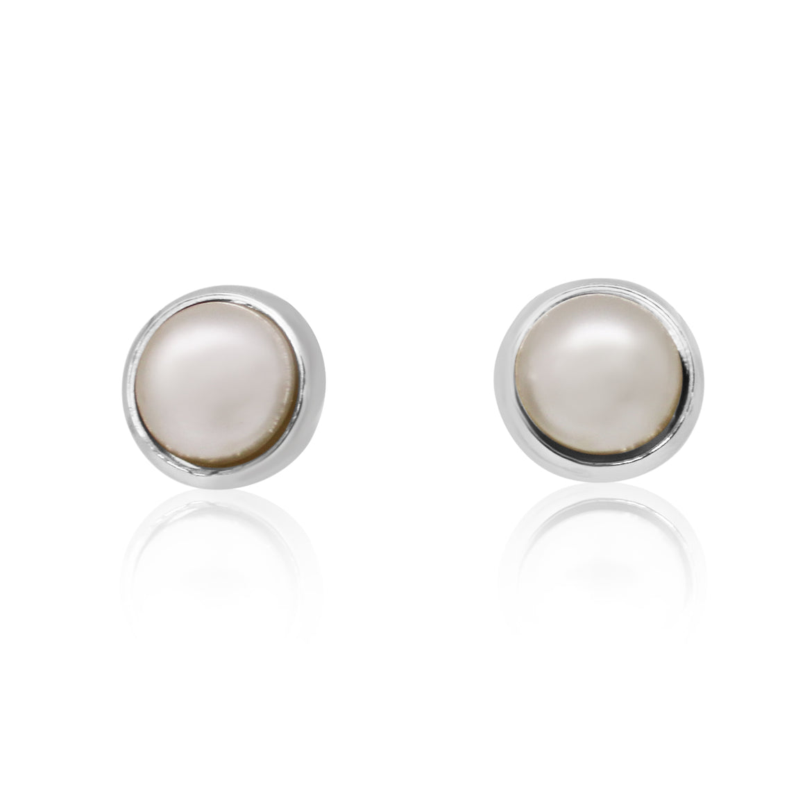 Stud Pearl Earrings - choose colour