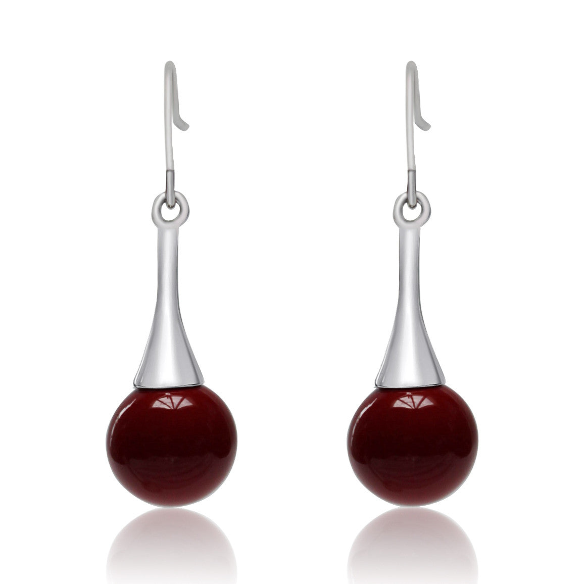 Drop Ball Earring - many colours to choose from!