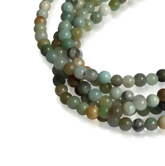 MEDIUM STRAND NECKLACE - Amazonite - choose magnet colour