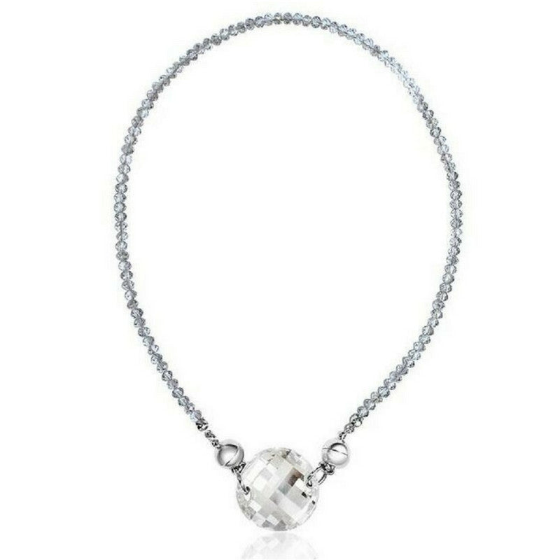 drop crystal swarovski plated rhodium swcr pave pendant piece