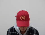 WEST. Red & Gold Dadcap