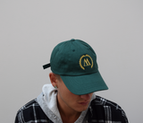WEST. Forest Green & Gold Dadcap
