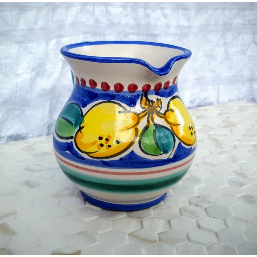 italian handpainted pottery