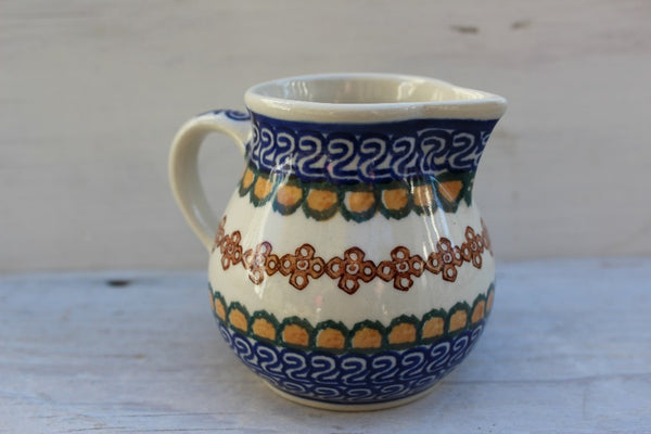 Polish Pottery Creamer -  the design shoals