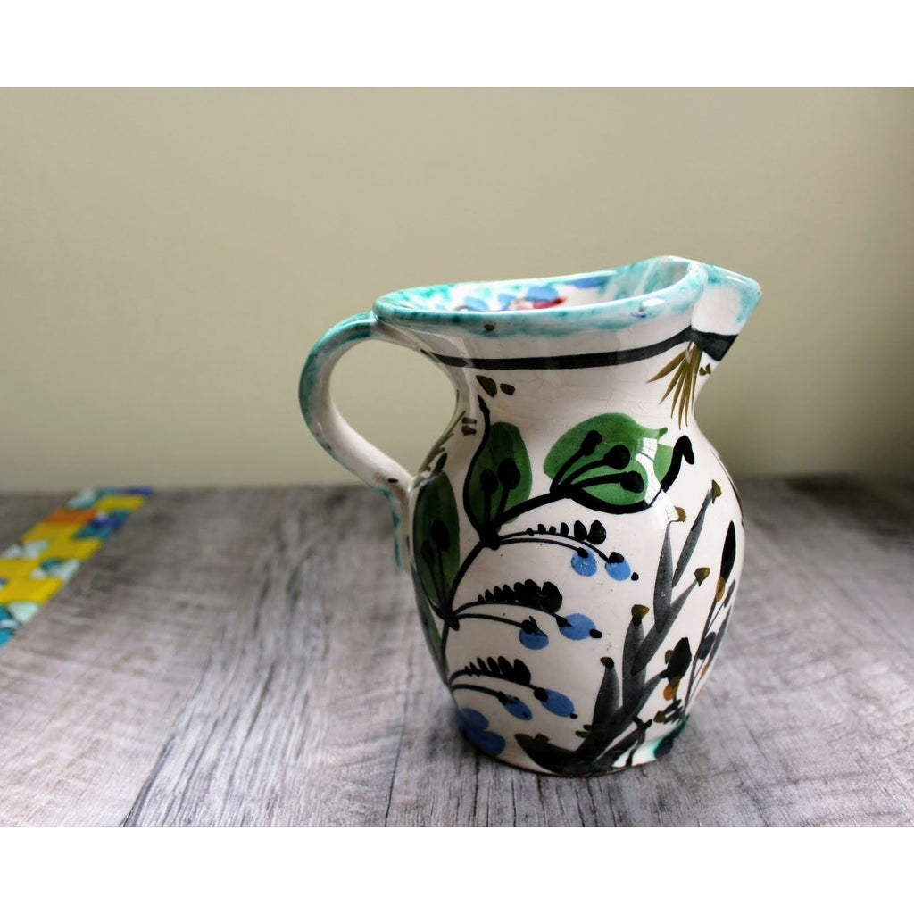 Vintage Handcrafted Italian Pitcher -  the design shoals