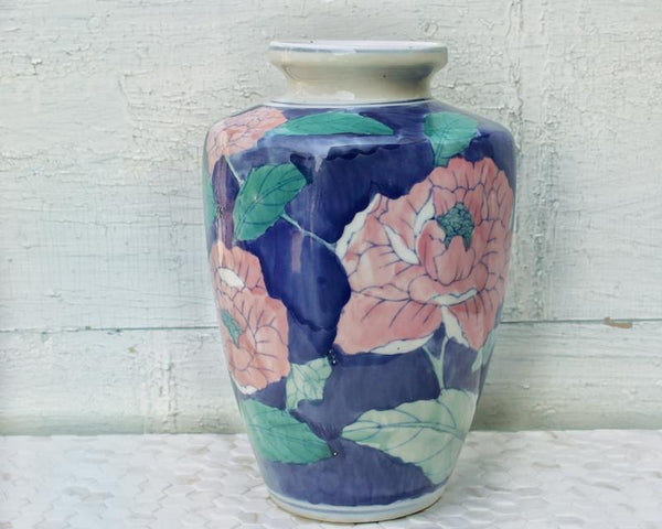 Blue and Pink Vase