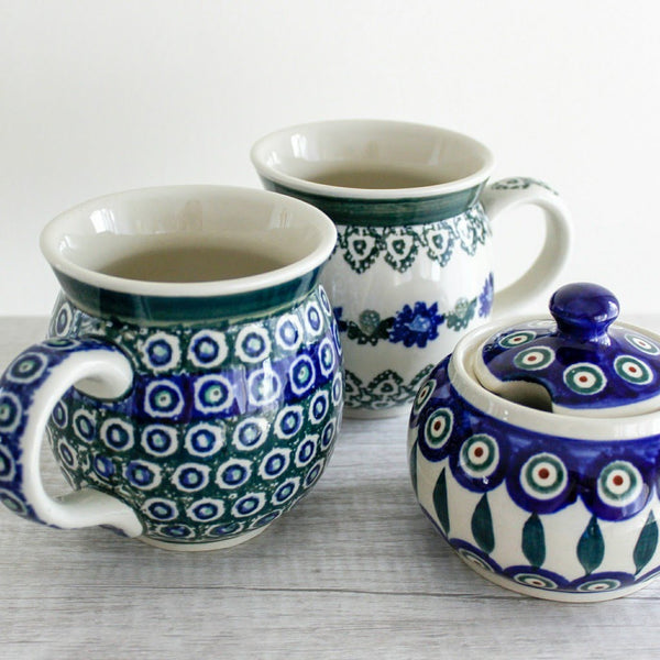 Polish Pottery Bubble Mug -  the design shoals