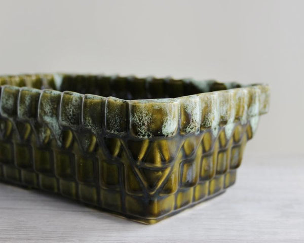 Green Ceramic Planter - UPCO USA -  the design shoals