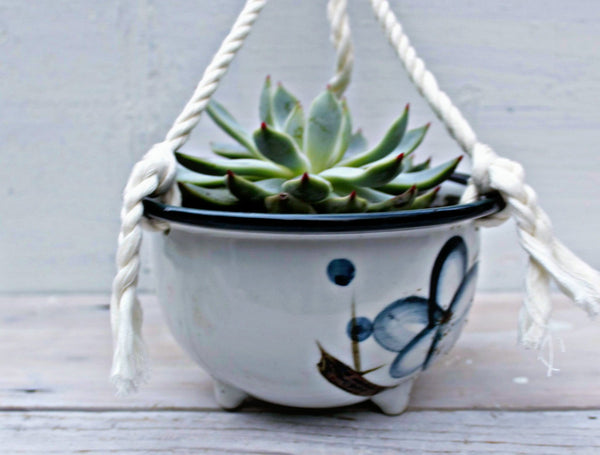 Ceramic Hanging Planter -  the design shoals