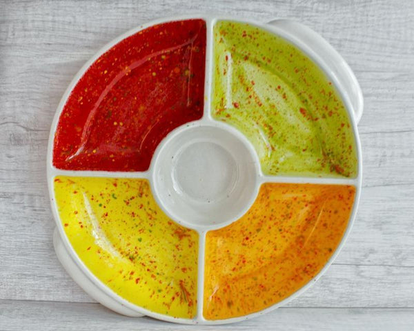 Divided Ceramic Dish -  the design shoals