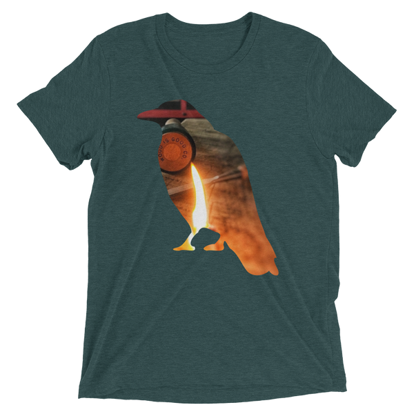 Graphic Tee-shirt Crow Design -  the design shoals