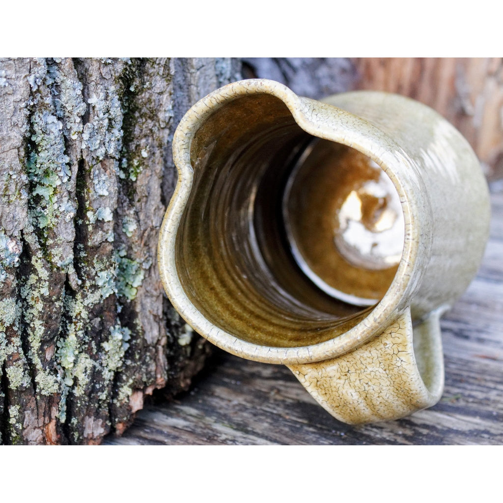 Rustic Handmade Pottery Jug -  the design shoals