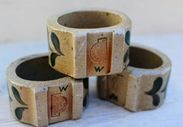 Salmon Falls Napkin Rings -  the design shoals